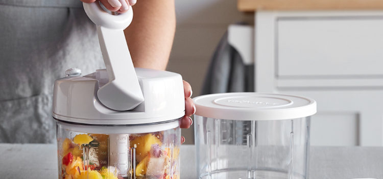 Pampered Chef Food Chopper vs. Manual Food Processor – What's the difference?