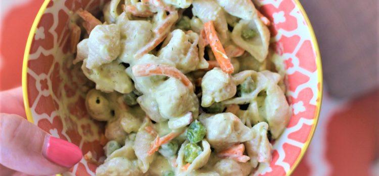 Creamy Dreamy Dill Summer Pasta Salad