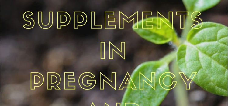 Vegan Omega-3 Fatty Acid Supplementation in Pregnancy and Breastfeeding – The Why, What, and Where
