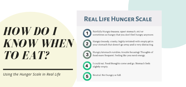 How Do I Know When to Eat? A Real Life Guide to the Hunger Scale
